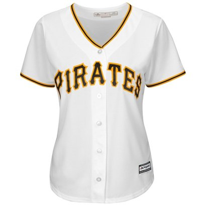 4c1856bfc Majestic Women's Pittsburgh Pirates Starling Marte #6 Cool Base® Replica  Home Jersey