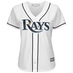 Majestic Women's Tampa Bay Rays Cool Base Replica Home Jersey