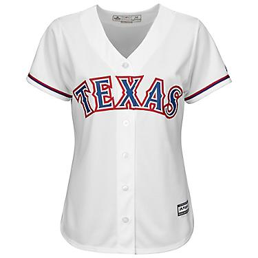 best loved 03f9c 303d8 Majestic Women's Texas Rangers Cool Base Replica Home Jersey
