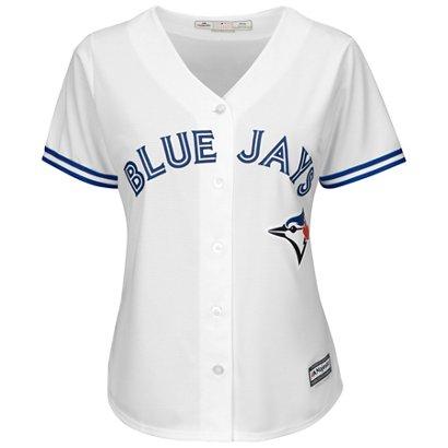 new product df82e 1be53 Majestic Women's Toronto Blue Jays Cool Base Replica Jersey