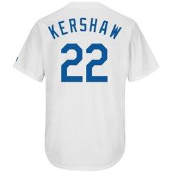 Majestic Men's Los Angeles Dodgers Clayton Kershaw #22 Cooperstown Replica Jersey
