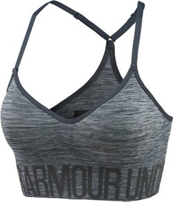 Under Armour Women's Armour Seamless Sports Bra with Cups
