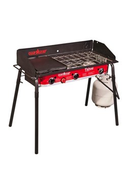Camp Chef Tahoe 3-Burner Propane Camp Stove with Griddle