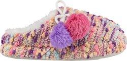 Austin Trading Co. Girls' Popcorn Knit Slippers
