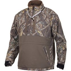 Men's LST Heavyweight Eqwader 1/4 Zip Camo Pullover