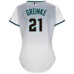Majestic Women's Arizona Diamondbacks Zack Greinke #21 Jersey