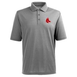 Antigua Men's Boston Red Sox Piqué Xtra-Lite Polo Shirt