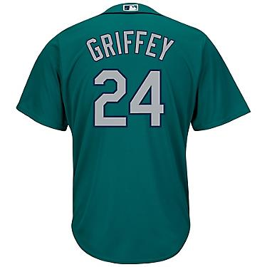 buy online db65a d1b9e Majestic Men's Seattle Mariners Ken Griffey Jr. #24 Cool Base Replica Jersey