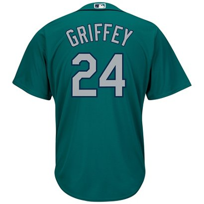 4c9c737d2 ... Majestic Men s Seattle Mariners Ken Griffey Jr.  24 Cool Base Replica  Jersey. Mariners Men s Apparel. Hover Click to enlarge