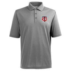 Antigua Men's Minnesota Twins Piqué Xtra-Lite Polo Shirt