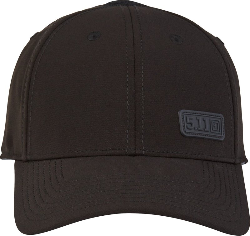 5.11 Tactical Men's Caliber Flex Cap (Black, Size Medium/Large) - Men's Outdoor Apparel, Men's Hunting/Fishing Headwear at Academy Sports thumbnail
