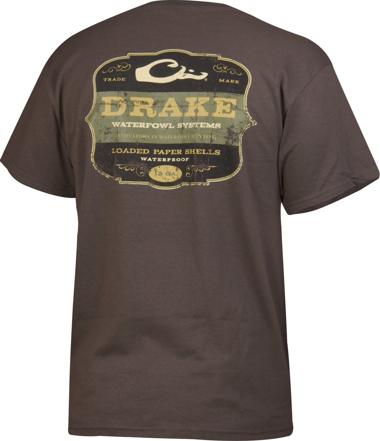 96c3ae4a2 Display product reviews for Drake Waterfowl Men's Paper Shells Short Sleeve  T-shirt
