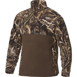 Men's 2-Tone Camo Camp Fleece