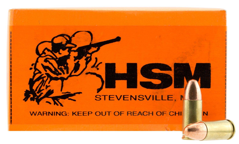 HSM 9mm FMJ Centerfire Rifle Ammunition