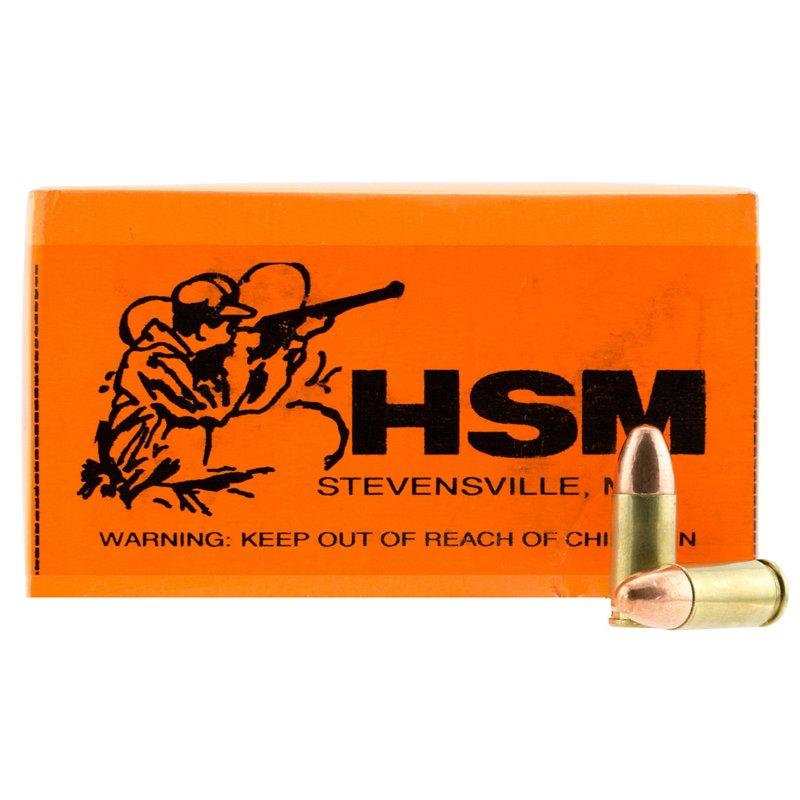 HSM 9mm FMJ Centerfire Rifle Ammunition, 115 - Pistol Shells at Academy Sports thumbnail