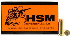 HSM 10mm 200-Grain Centerfire Handgun Ammunition