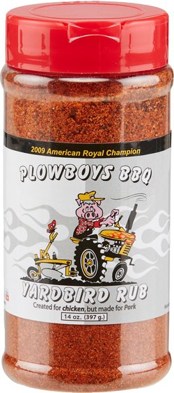 Plowboys BBQ 14 oz. Yardbird Rub