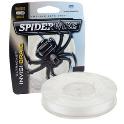 Spiderwire Ultracast Invisi-Braid - 125 yards Braided Fishing Line
