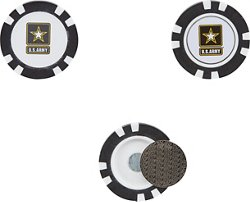 Team Golf Army West Point Golf Chip Markers 3-Pack