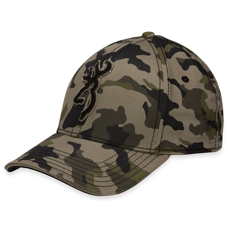 Browning Men's Stalker Camo Cap, Large/X-Large – Basic Hunting Headwear at Academy Sports