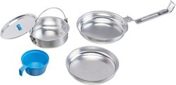 Texsport 5-Piece Aluminum Mess Kit