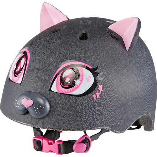 Raskullz Girls' Kitty Bicycle Helmet