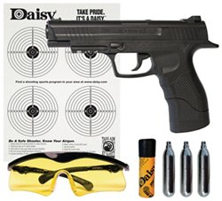 Daisy® Powerline 415 Semiautomatic CO₂ Pistol Kit