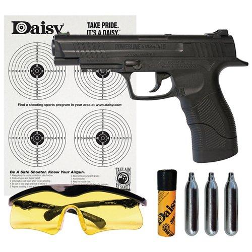 Daisy® Powerline 415 Semiautomatic CO₂ Pistol Kit