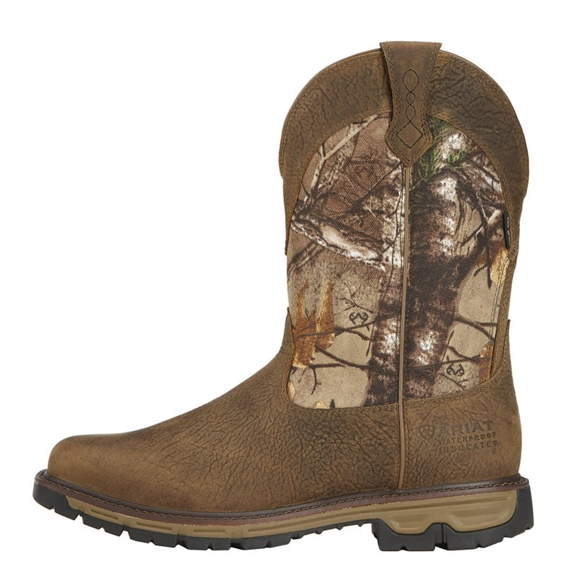 Ariat Men's Conquest H2O Hunting Boots (Ash Brown, Size 8.5) - Hunting Boots at Academy Sports thumbnail