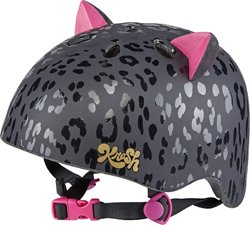 Krash Youth Leopard Kitty Bicycle Helmet