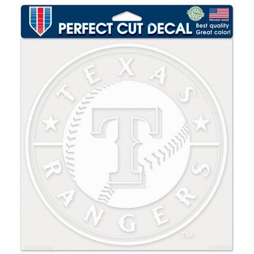 WinCraft Texas Rangers Perfect Cut Decal
