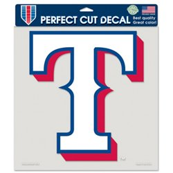 Texas Rangers Perfect Cut Color Decal