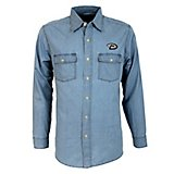 Antigua Men's Arizona Diamondbacks Long Sleeve Button Down Chambray Shirt