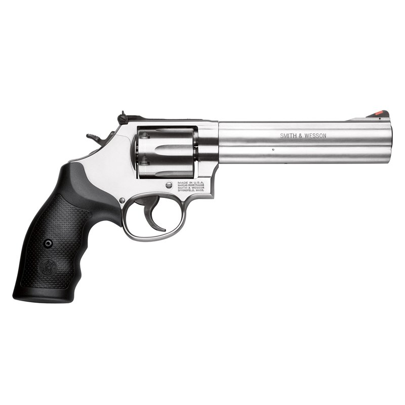 Smith & Wesson Model 686 .357 Magnum/.38 S&W Special +P Revolver Silver – Handgun Rvolvr/Single Centre at Academy Sports