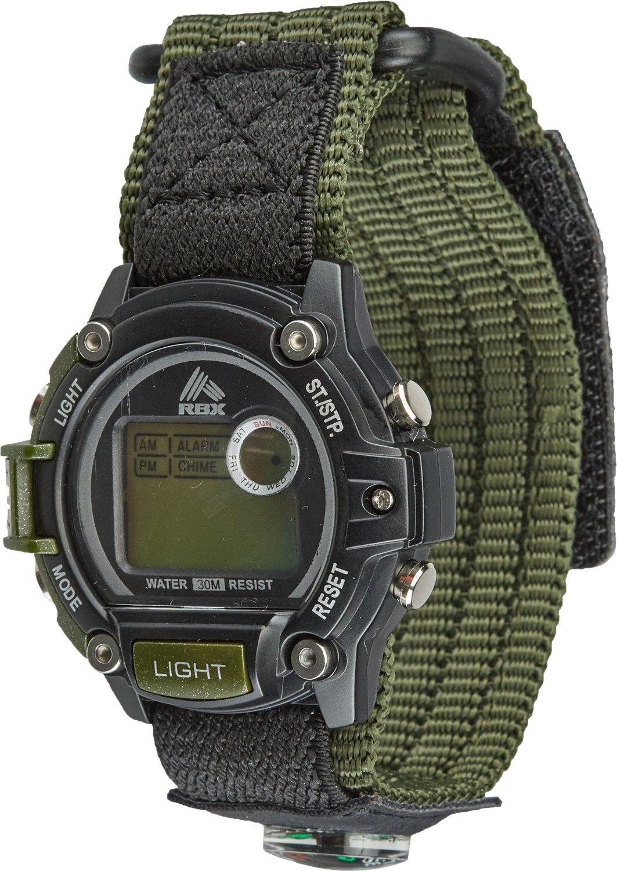 Academy Sports + Outdoors Men's Fast-Wrap Digital Watch