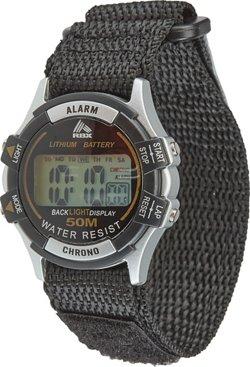 Academy Sports + Outdoors Men's Midsize Fast-Wrap Digital Watch