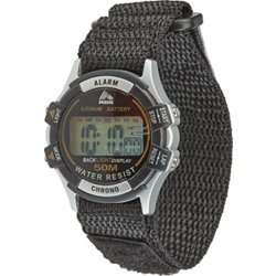 Academy Sports + Outdoors Men's Midsize Fast-Wrap Digital Watch
