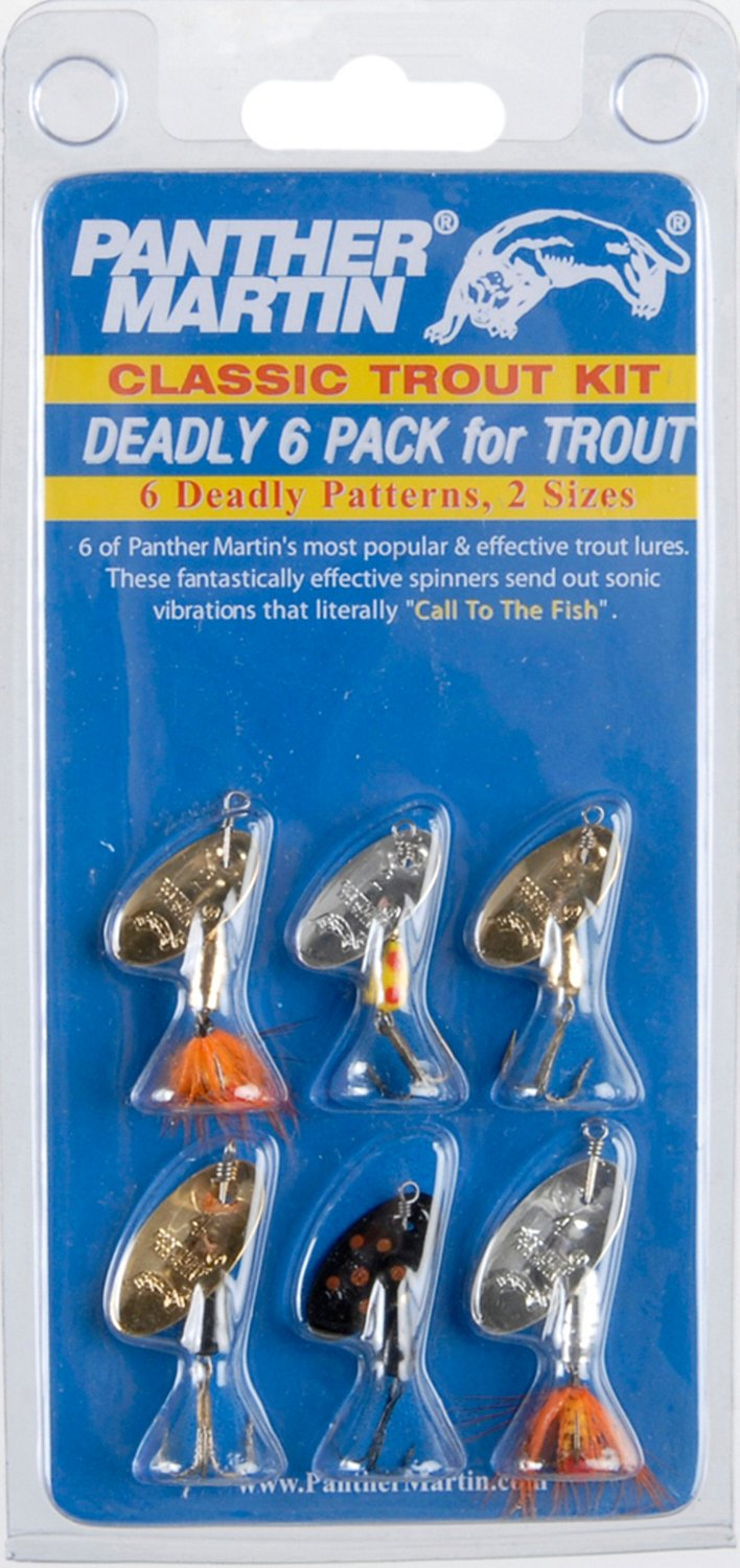 Panther Martin Deadly Trout Spinnerbaits 6-Pack - view number 1