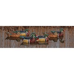 Topflight Wood Duck Decoys 6-Pack