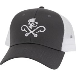 Men's Skull and Hooks Mesh Hat