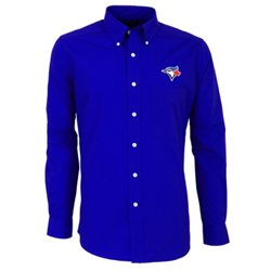 Men's Toronto Blue Jays Dynasty Long Sleeve Button Down Shirt