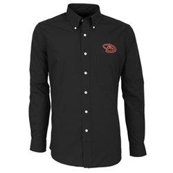 Antigua Men's Arizona Diamondbacks Dynasty Long Sleeve Button Down Shirt