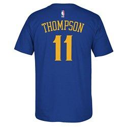 adidas Men's Golden State Warriors Klay Thompson No. 11 T-shirt
