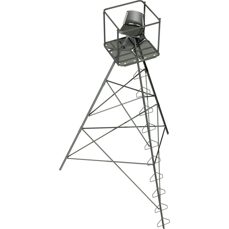 Summit Classic Strike Pod Deluxe Tripod Stand Summit Green - Hunting Stands/Blinds/Accessories at Academy Sports thumbnail