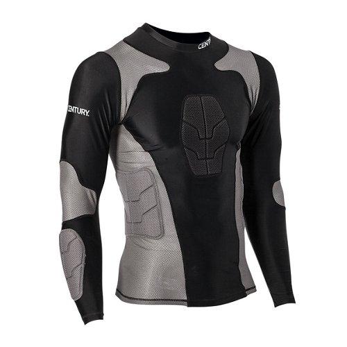 Century Men's Long Sleeve Padded Compression Shirt