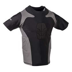 Century Men's Short Sleeve Padded Compression Shirt