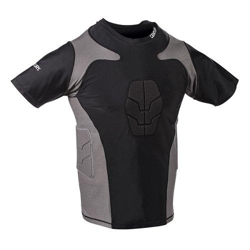 Century Men's Short Sleeve Padded Compression Shirt