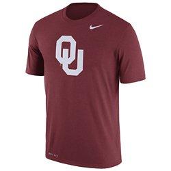 Nike Men's University of Oklahoma Dri-FIT Legend Logo Short Sleeve T-shirt