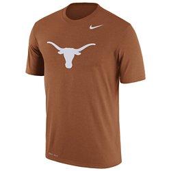 Nike Men's University of Texas Dri-FIT Legend Logo Short Sleeve T-shirt