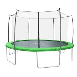 Pure Fun Dura-Bounce 12 ft Trampoline with Enclosure